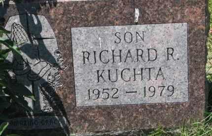 KUCHTA, RICHARD R. - Dixon County, Nebraska | RICHARD R. KUCHTA - Nebraska Gravestone Photos