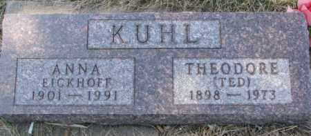 KUHL, ANNA - Dixon County, Nebraska   ANNA KUHL - Nebraska Gravestone Photos