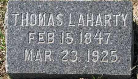 LAHARTY, THOMAS - Dixon County, Nebraska   THOMAS LAHARTY - Nebraska Gravestone Photos