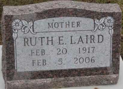 LAIRD, RUTH E. - Dixon County, Nebraska | RUTH E. LAIRD - Nebraska Gravestone Photos