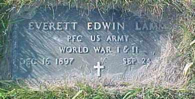 LAMM, EVERETT EDWIN (WW MARKER) - Dixon County, Nebraska | EVERETT EDWIN (WW MARKER) LAMM - Nebraska Gravestone Photos