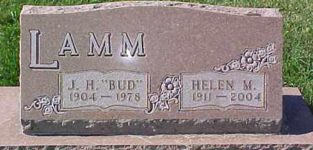 "LAMM, J.H. ""BUD"" - Dixon County, Nebraska   J.H. ""BUD"" LAMM - Nebraska Gravestone Photos"