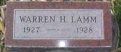 LAMM, WARREN H. - Dixon County, Nebraska | WARREN H. LAMM - Nebraska Gravestone Photos