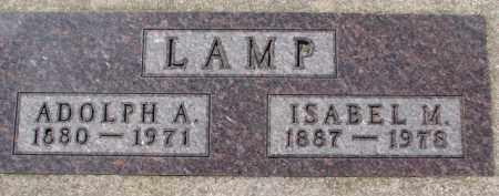 LAMP, ISABEL M. - Dixon County, Nebraska | ISABEL M. LAMP - Nebraska Gravestone Photos