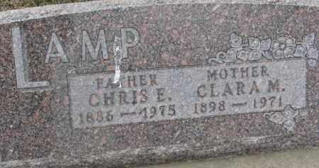 LAMP, CLARA M. - Dixon County, Nebraska | CLARA M. LAMP - Nebraska Gravestone Photos
