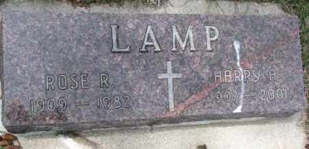 LAMP, HARRY A. - Dixon County, Nebraska | HARRY A. LAMP - Nebraska Gravestone Photos