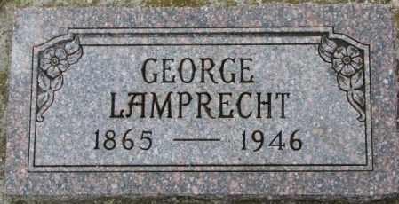 LAMPRECHT, GEORGE - Dixon County, Nebraska | GEORGE LAMPRECHT - Nebraska Gravestone Photos
