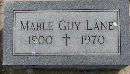LANE, MABLE - Dixon County, Nebraska | MABLE LANE - Nebraska Gravestone Photos