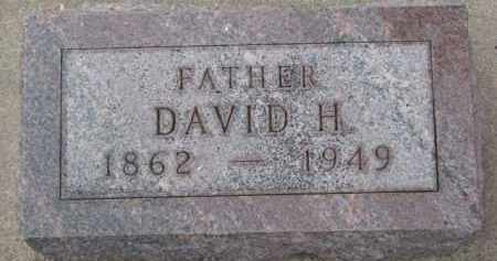 LANGE, DAVID H. - Dixon County, Nebraska | DAVID H. LANGE - Nebraska Gravestone Photos