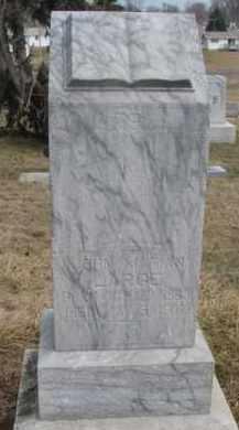 LARGE, JOHN MARION - Dixon County, Nebraska | JOHN MARION LARGE - Nebraska Gravestone Photos