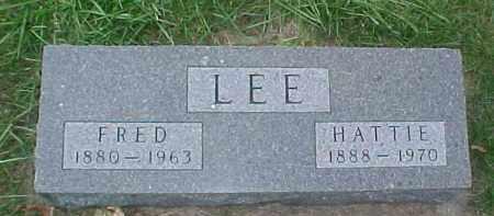 LEE, FRED - Dixon County, Nebraska   FRED LEE - Nebraska Gravestone Photos