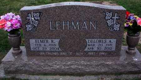 LEHMAN, DELORES A. - Dixon County, Nebraska | DELORES A. LEHMAN - Nebraska Gravestone Photos