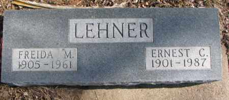 LEHNER, ERNEST C. - Dixon County, Nebraska | ERNEST C. LEHNER - Nebraska Gravestone Photos