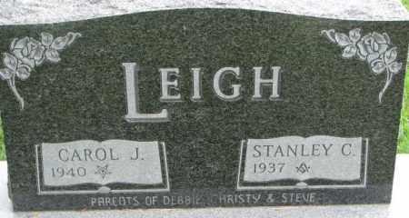 LEIGH, CAROL J. - Dixon County, Nebraska | CAROL J. LEIGH - Nebraska Gravestone Photos