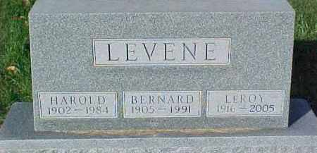 LEVENE, BERNARD - Dixon County, Nebraska | BERNARD LEVENE - Nebraska Gravestone Photos