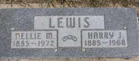 LEWIS, HARRY J. - Dixon County, Nebraska | HARRY J. LEWIS - Nebraska Gravestone Photos