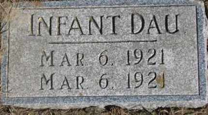 LIEBER, INFANT - Dixon County, Nebraska | INFANT LIEBER - Nebraska Gravestone Photos