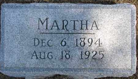 LIEBER, MARTHA - Dixon County, Nebraska   MARTHA LIEBER - Nebraska Gravestone Photos