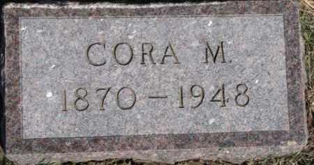 WAY LINAFELTER, CORA M. - Dixon County, Nebraska   CORA M. WAY LINAFELTER - Nebraska Gravestone Photos