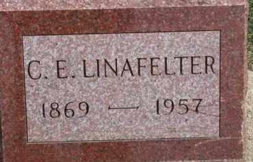 LINAFELTER, C.E. - Dixon County, Nebraska   C.E. LINAFELTER - Nebraska Gravestone Photos