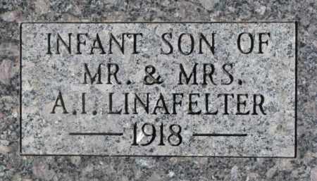 LINAFELTER, INFANT - Dixon County, Nebraska | INFANT LINAFELTER - Nebraska Gravestone Photos