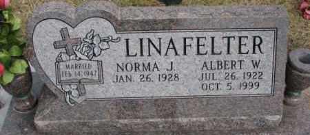LINAFELTER, ALBERT W. - Dixon County, Nebraska | ALBERT W. LINAFELTER - Nebraska Gravestone Photos
