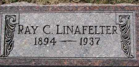 LINAFELTER, RAY C. - Dixon County, Nebraska | RAY C. LINAFELTER - Nebraska Gravestone Photos