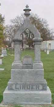 LINDER, ANDREW A. - Dixon County, Nebraska | ANDREW A. LINDER - Nebraska Gravestone Photos