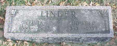 LINDER, LUDWIG C. - Dixon County, Nebraska | LUDWIG C. LINDER - Nebraska Gravestone Photos