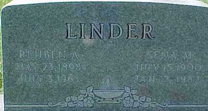 LINDNER, REUBEN A. - Dixon County, Nebraska   REUBEN A. LINDNER - Nebraska Gravestone Photos