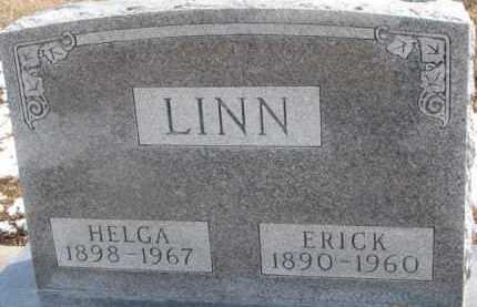 LINN, ERICK - Dixon County, Nebraska | ERICK LINN - Nebraska Gravestone Photos