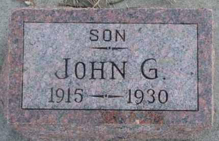 LIPPOLT, JOHN G. - Dixon County, Nebraska | JOHN G. LIPPOLT - Nebraska Gravestone Photos