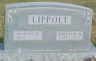 LIPPOLT, WILLIAM H. - Dixon County, Nebraska | WILLIAM H. LIPPOLT - Nebraska Gravestone Photos