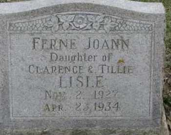 LISLE, FERNE JOANN - Dixon County, Nebraska | FERNE JOANN LISLE - Nebraska Gravestone Photos