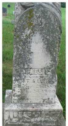 LISTER, AGNES E. - Dixon County, Nebraska | AGNES E. LISTER - Nebraska Gravestone Photos