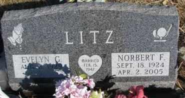 LITZ, EVELYN G. - Dixon County, Nebraska   EVELYN G. LITZ - Nebraska Gravestone Photos