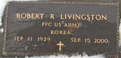 LIVINGSTON, ROBERT R. (MILITARY MARKER) - Dixon County, Nebraska | ROBERT R. (MILITARY MARKER) LIVINGSTON - Nebraska Gravestone Photos