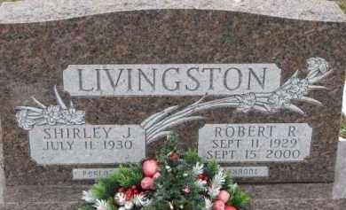 LIVINGSTON, SHIRLEY J. - Dixon County, Nebraska | SHIRLEY J. LIVINGSTON - Nebraska Gravestone Photos
