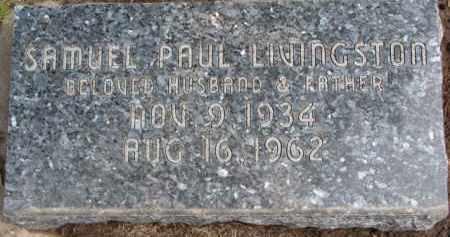 LIVINGSTON, SAMUEL PAUL - Dixon County, Nebraska | SAMUEL PAUL LIVINGSTON - Nebraska Gravestone Photos