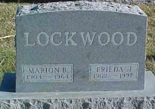 LOCKWOOD, MARION R. - Dixon County, Nebraska | MARION R. LOCKWOOD - Nebraska Gravestone Photos