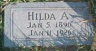 LOETSCHER, HILDA A. - Dixon County, Nebraska   HILDA A. LOETSCHER - Nebraska Gravestone Photos