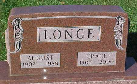 LONGE, GRACE - Dixon County, Nebraska | GRACE LONGE - Nebraska Gravestone Photos