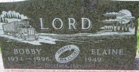 LORD, BOBBY - Dixon County, Nebraska | BOBBY LORD - Nebraska Gravestone Photos