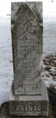 LORENSON, INGEBORG J. - Dixon County, Nebraska | INGEBORG J. LORENSON - Nebraska Gravestone Photos