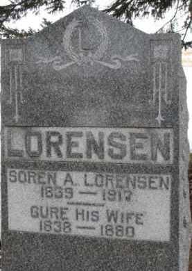 LORENSON, GURE - Dixon County, Nebraska | GURE LORENSON - Nebraska Gravestone Photos