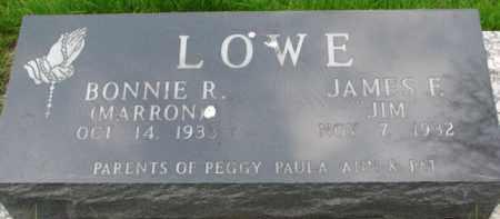 LOWE, BONNIE R. - Dixon County, Nebraska | BONNIE R. LOWE - Nebraska Gravestone Photos