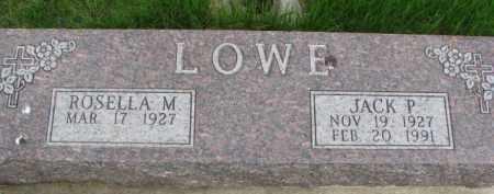 LOWE, ROSELLA M. - Dixon County, Nebraska   ROSELLA M. LOWE - Nebraska Gravestone Photos