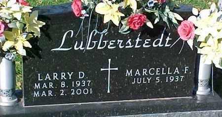LUBBERSTEDT, MARCELLA F. - Dixon County, Nebraska | MARCELLA F. LUBBERSTEDT - Nebraska Gravestone Photos