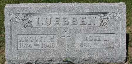 LUEBBEN, ROSE L. - Dixon County, Nebraska | ROSE L. LUEBBEN - Nebraska Gravestone Photos