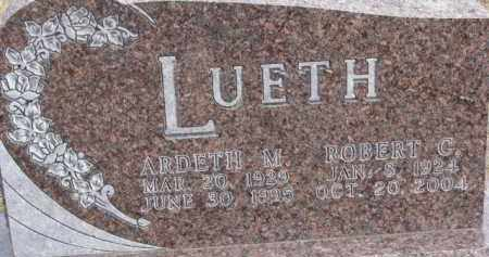 LUETH, ARDETH M. - Dixon County, Nebraska | ARDETH M. LUETH - Nebraska Gravestone Photos